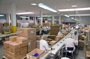 co-packing operations